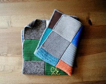 Blanket MILA crocheted