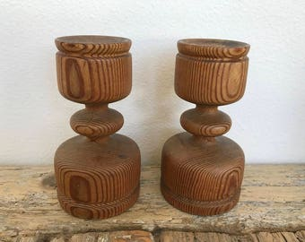 Mid Century Candle Holders