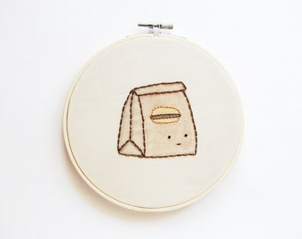 Take Me Out - Take-Out Convenience Foods Embroidery Pattern