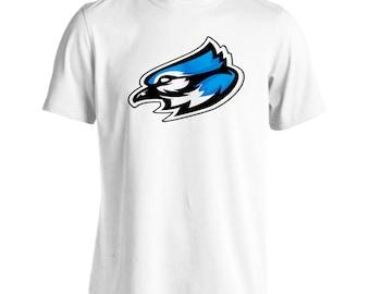Blue jay mascot logo Men's T-Shirt u623m
