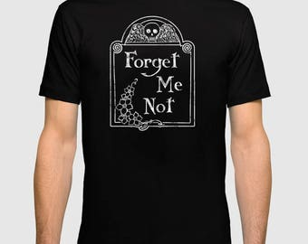 Forget Me Not Men's Fitted Tee
