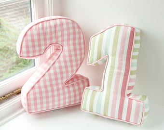 Personalised Number Cushion