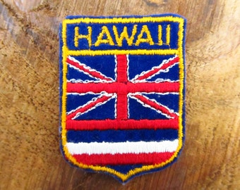 Vintage Hawaii Patch - Hawaii Souvenir Patch -  Hawaii  Voyager Sampson's Badge Patch