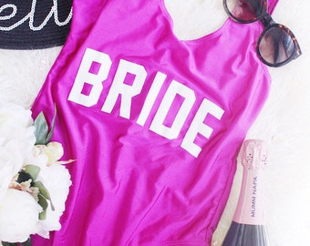 Bride Bathing suit one-piece