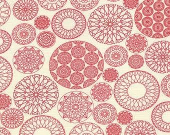 Moda - Fat Quarter - Wishes - Red bauble