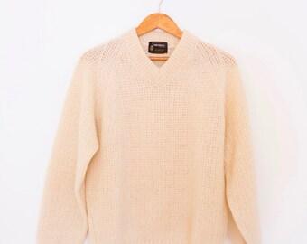 Autumn Sun Knit V neck Sweater