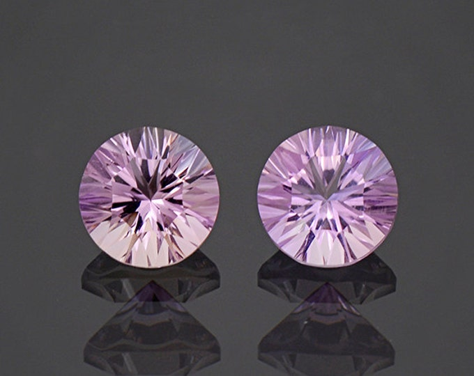 Brilliant Bi Color Ametrine Gemstone Set from Bolivia 3.66 tcw.