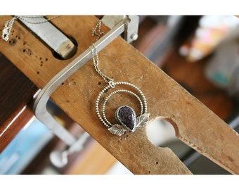 "Blue Goldstone Charm- ""Stellar"""
