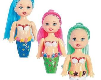Mermaid Dolls set of 3