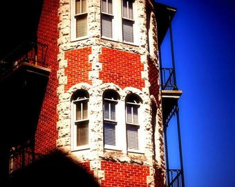 Corner Building Photography, Fine Art Photography, Architectural Photography, Color photography