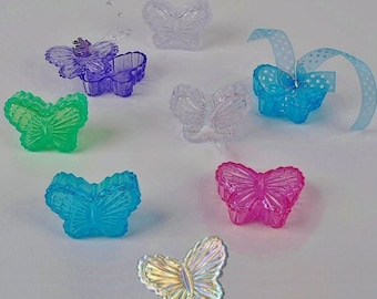 """2.5"""" Butterfly Box (2 Piece Lid & Box) 6 Color Choices - You Pick, Package of 12"""