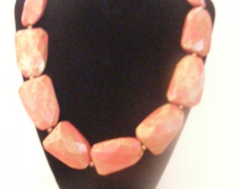 Vintage VCLM Beaded Necklace