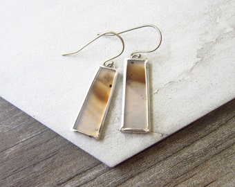 Forged Earrings & Chain