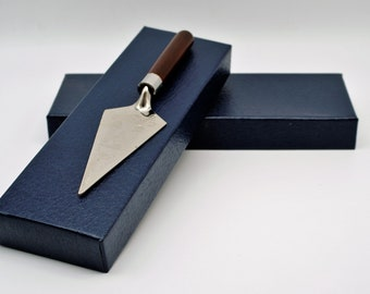 Masonic Trowel for Freemasons, gold or silver, Lodge,Masonic Tool