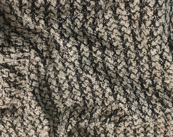Wool Tweed Haute Couture Chan * l - 45 cm x 90cm