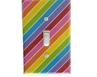 Rainbow Light Switch Cover - Rainbow Wall Decor