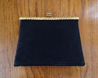Debbie Jerome Black Clutch Purse