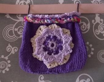 7.0 x 6.0 IN Purse -Purple