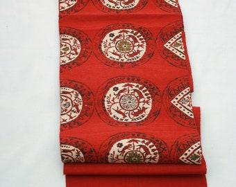 Vintage Japanese Nagoya Silk Obi