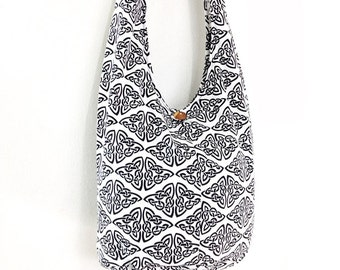 Women bag Handbags Cotton bag Hippie bag Hobo bag Boho bag Shoulder bag Sling bag Messenger bag Tote bag Crossbody bag Purse White