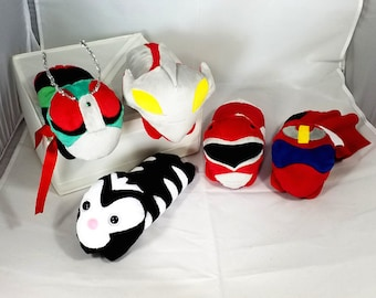 Tokusatsu Shoulder Pets - Kamen Rider, Super Sentai, Ultraman, Power Rangers!