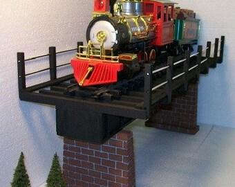 Model Railroad G Gauge Girder Bridge