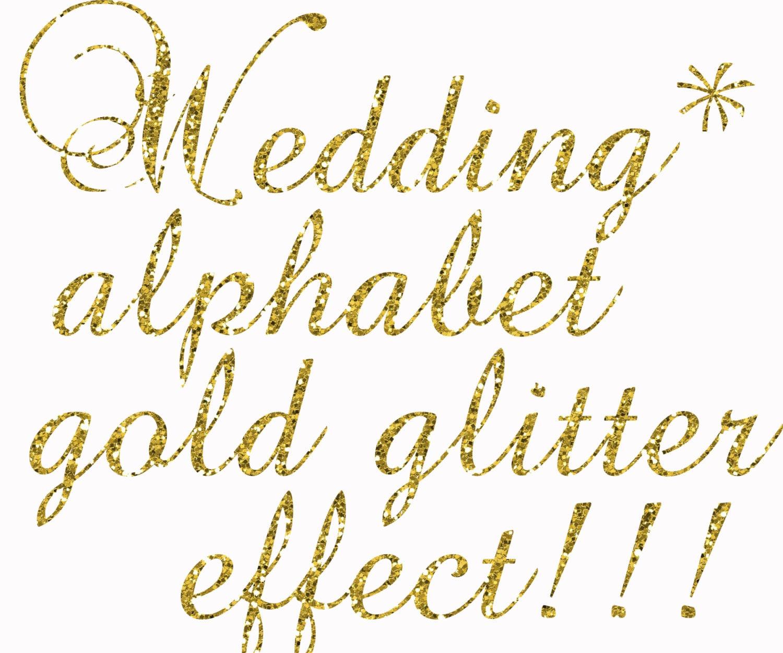 Gold Glitter Alphabet ClipartGlitter Alphabet Gold Glitter