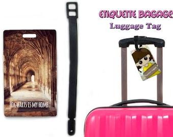 harry potter - hogwarts   #1-004 - luggage tag name