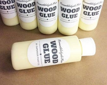 Wood Glue Professional Grade, Eco-Friendly, Non-Toxic, Formaldahyde Free for furniture, cabinet builders and crafters.
