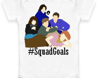 Breakfast Club - Squad Goals - Baby Clothes