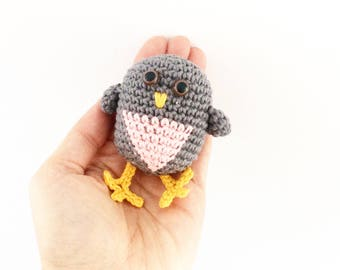 Crochet Baby Bird Pattern - Instant Download