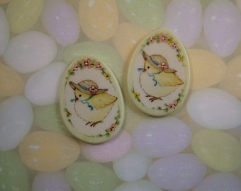 Chick-N-Egg Button set of 2