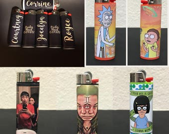 Custom Lighters-High Quality-Preview Before Shipping