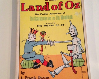 1904 The Land Of Oz Book-Wizard of Oz