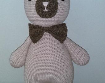 Crochet Amigurumi  Bear/ crocheted/soft animal /soft toy/stuffed toy