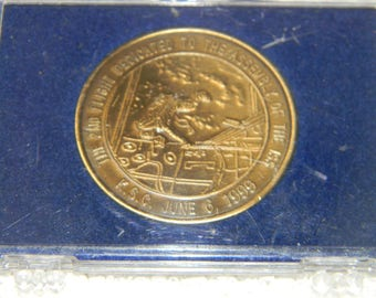STS-96 Discovery Medallion