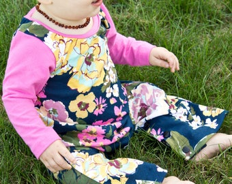 Baby Jumpsuit Pattern | A romper for every day