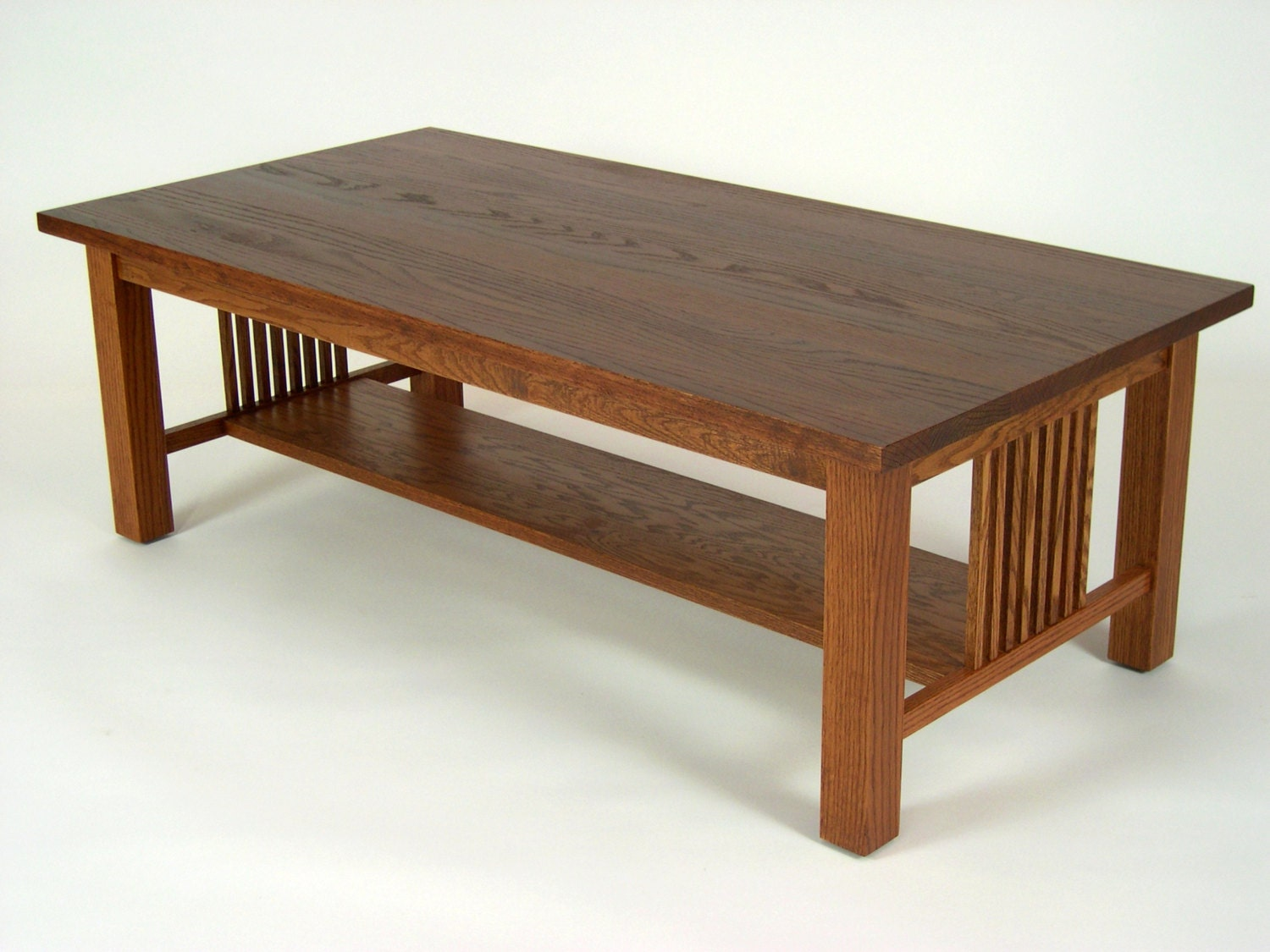 Mission Oak Arts Amp Crafts Stickley Style Coffee Cocktail Table