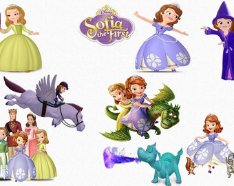 SOFIA the FIRST CLIPART 47 High Quality Png Images with Transparent Backgrounds, 300 dpi, Clip Art
