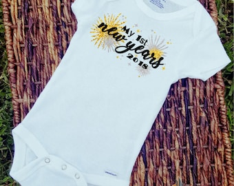 First New Years/Onesie/Custom/Personalized/Gift