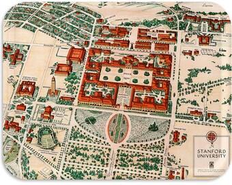 """Stanford University 1943 tray 17""""x13"""""""