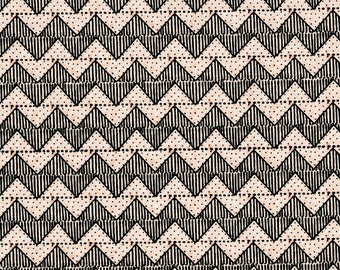 Zig Zag Pink, Quilting B's, J Wecker Frisch, Quilting Treasures, Sewing Fabric, Stripe Fabric, Cotton, Quilting