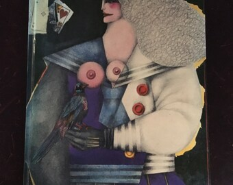 French 1980 Homage to Richard Lindner: XXe Siecle Review Number 53 German American art book