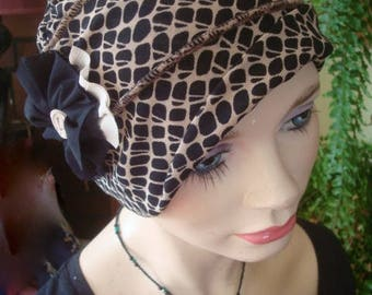 womens Hat chemo soft hat mesh cool breathable headcover black beige