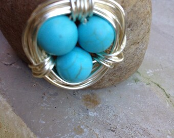Bird Nest Pendant