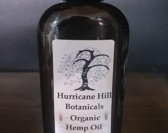 Organic Hemp Oil - 4 oz