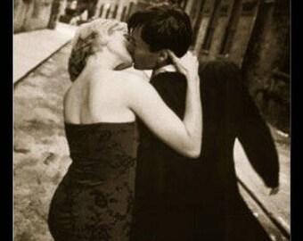"SoHo, NYC - ""Her Kiss"" - 11x14"" Framed"