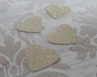 Hearts Gold Confetti Table Confetti Table Decorations Party Decorations Engagement Party Wedding Bridal Shower Table Scatter Birthday Party