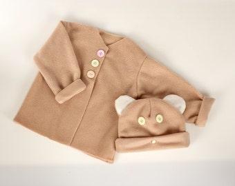 Sew Your Own Baby Set - Beige
