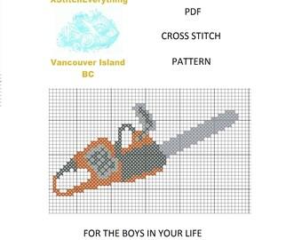 Cross Stitch Pattern - counted cross stitch - machine cross stitch